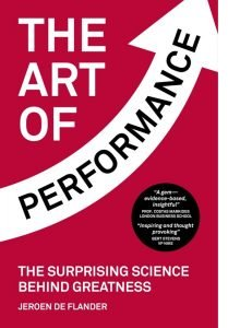 The Art of Performance Boekomslag - beter en sneller leren